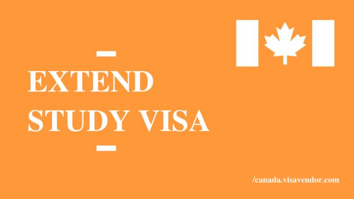 Extend Study Visa