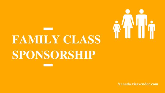 Family Class Sponsorship