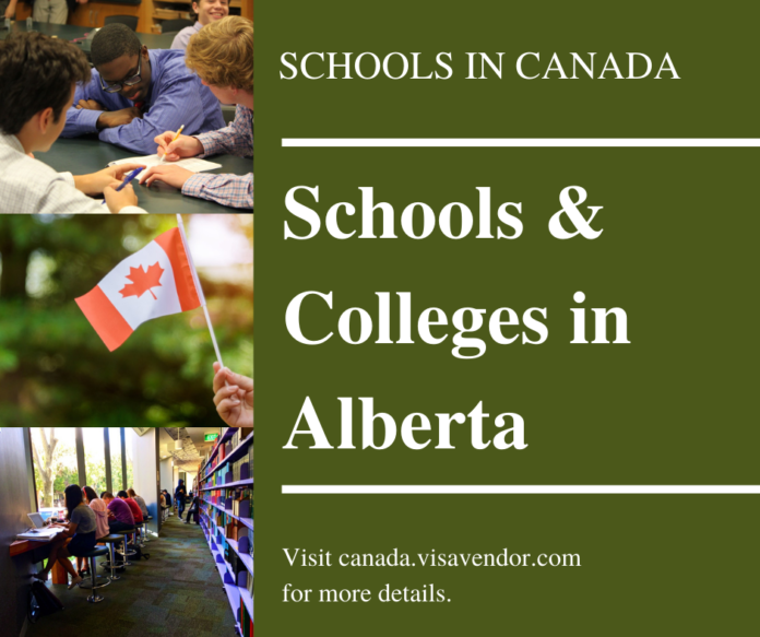 Schools and Colleges in Alberta