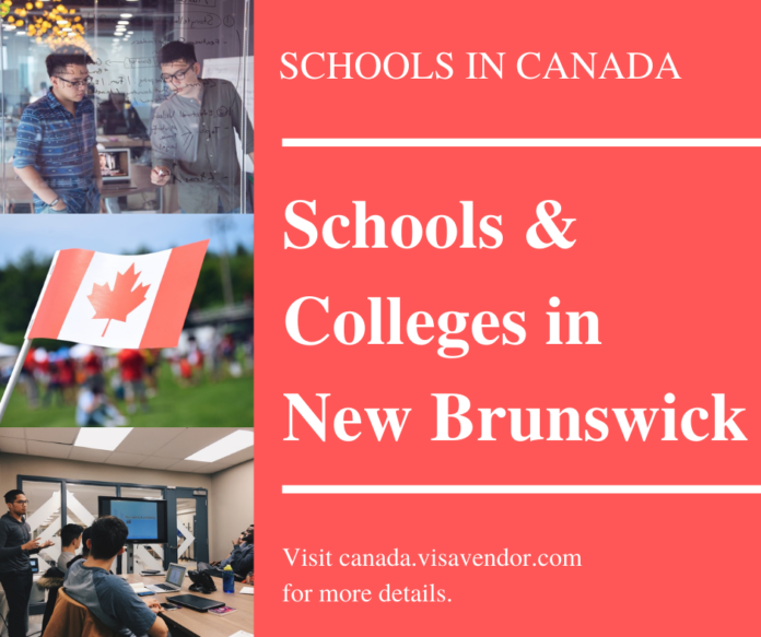 Schools and Colleges in New Brunswick