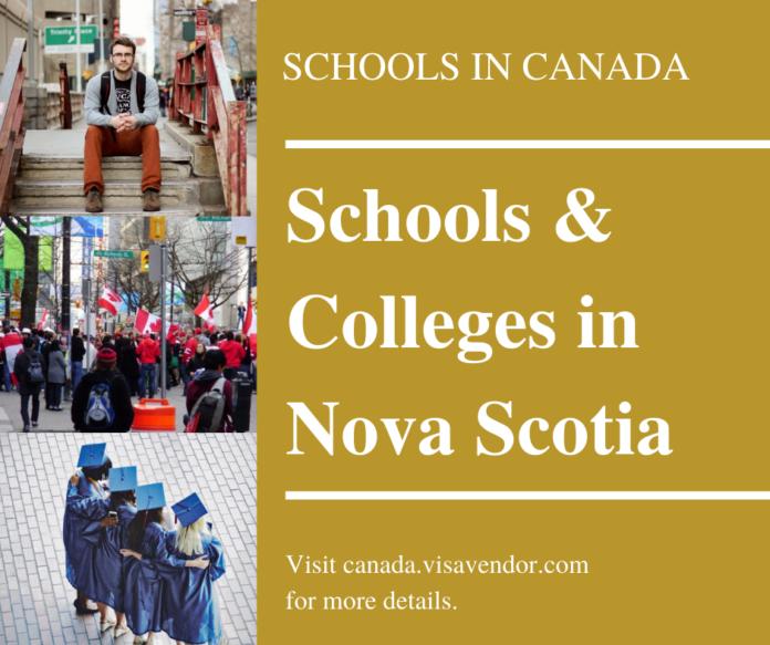 Schools and Colleges in Nova Scotia