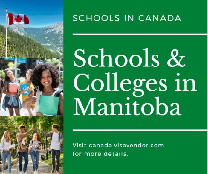 Schools and Colleges in Manitoba Canada